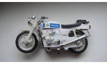 МОТОЦИКЛ ПОЛИЦИЯ  ТОЛЬКО МОСКВА, масштабная модель мотоцикла, scale0