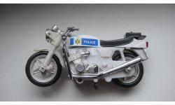 МОТОЦИКЛ ПОЛИЦИЯ  ТОЛЬКО МОСКВА, масштабная модель мотоцикла