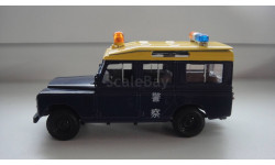 ПОЛИЦЕЙСКИЕ МАШИНЫ МИРА LAND ROVER  ТОЛЬКО МОСКВА, журнальная серия Полицейские машины мира (DeAgostini), scale43