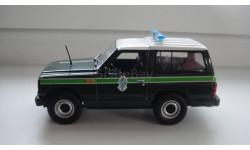 ПОЛИЦЕЙСКИЕ МАШИНЫ МИРА NISSAN PATROL  ТОЛЬКО МОСКВА, журнальная серия Полицейские машины мира (DeAgostini), scale43