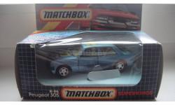 PEUGEOT 305 MATCHBOX ТОЛЬКО МОСКВА, масштабная модель
