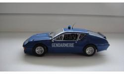 ПОЛИЦЕЙСКИЕ МАШИНЫ МИРА RENAULT ALPINE  ТОЛЬКО МОСКВА, журнальная серия Полицейские машины мира (DeAgostini), scale43