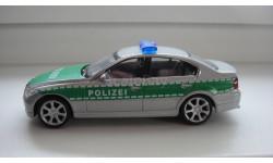 BMW 330 POLIZEI  ТОЛЬКО МОСКВА, масштабная модель, scale43