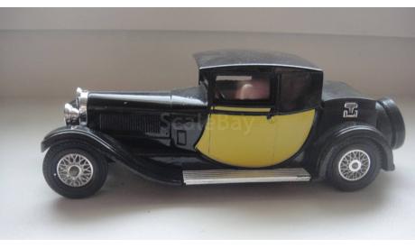 BUGATTI TYPE 1928 MATCHBOX ТОЛЬКО МОСКВА, масштабная модель