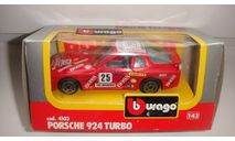 PORSCHE 924 TURBO BURAGO ТОЛЬКО МОСКВА, масштабная модель, scale43