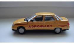 ВАЗ 2110 АЭРОФЛОТ  ТОЛЬКО МОСКВА, масштабная модель, scale43