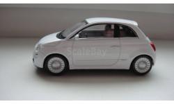 FIAT 500 ТОЛЬКО МОСКВА, масштабная модель, scale43