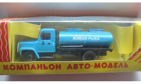 ГАЗ 3307 ЖИВАЯ РЫБА КОМПАНЬОН   ТОЛЬКО МОСКВА, масштабная модель, scale43