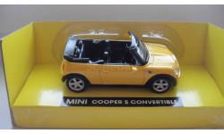 MINI COOPER S CONVERTIBLE  ТОЛЬКО МОСКВА, масштабная модель, 1:43, 1/43, Daimler