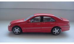 MERCEDES BENZ C 320 CARARAMA ТОЛЬКО МОСКВА, масштабная модель, 1:43, 1/43, Mercedes-Benz