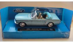 MUSTANG 1964 ТОЛЬКО МОСКВА, масштабная модель, Ford, scale43
