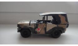 УАЗ 469 КАМУФЛЯЖ  ТОЛЬКО МОСКВА, масштабная модель, scale43