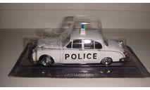 ПОЛИЦЕЙСКИЕ МАШИНЫ МИРА № 3  JAGUAR MK II  ТОЛЬКО МОСКВА, журнальная серия Полицейские машины мира (DeAgostini), scale43