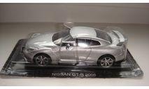 NISSAN GT-R 2008 СУПЕРКАРЫ ТОЛЬКО МОСКВА, масштабная модель, scale43