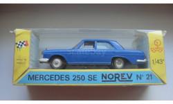MERCEDES BENZ 250 SE NOREV ТОЛЬКО МОСКВА, масштабная модель, 1:43, 1/43