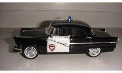 ПОЛИЦЕЙСКИЕ МАШИНЫ МИРА FORD FAIRLANE ТОЛЬКО МОСКВА, журнальная серия Полицейские машины мира (DeAgostini), scale43