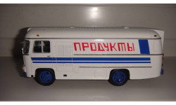 ПАЗ-3742 ПРОДУКТЫ   ТОЛЬКО МОСКВА, масштабная модель, 1:43, 1/43