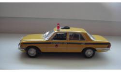 ПОЛИЦЕЙСКИЕ МАШИНЫ МИРА MERCEDES BENZ 450 SEL  ТОЛЬКО МОСКВА, журнальная серия Полицейские машины мира (DeAgostini), 1:43, 1/43, Mercedes-Benz