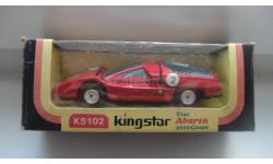 FIAT ABARTH 2000 KS 102 KING STAR ТОЛЬКО МОСКВА, масштабная модель, 1:43, 1/43
