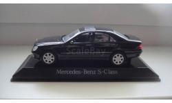 MERCEDES BENZ S 500 MAISTO  ТОЛЬКО МОСКВА, масштабная модель, Mercedes-Benz, scale43