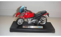 МОТОЦИКЛ  BMW  R1100 GS  ТОЛЬКО МОСКВА, масштабная модель мотоцикла, scale18