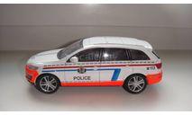 ПОЛИЦЕЙСКИЕ МАШИНЫ МИРА AUDI Q7  ТОЛЬКО МОСКВА, журнальная серия Полицейские машины мира (DeAgostini), scale43