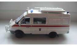 АВТОМОБИЛЬ НА СЛУЖБЕ № 37 ГАЗ 2705 МЧС   ТОЛЬКО МОСКВА, журнальная серия Автомобиль на службе (DeAgostini), scale43