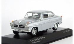 Borgward Isabella 1959 Alusilber Metallic