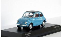 Fiat 500 1965 Azzurro, масштабная модель, 1:43, 1/43, Minichamps