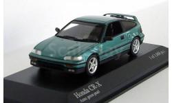 Honda CR-X Coupe 1989 Aztec green pearl, масштабная модель, 1:43, 1/43, Minichamps
