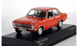 Opel Ascona 1970 Ziegelrot, масштабная модель, 1:43, 1/43, Minichamps