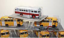 kultowe autobusy prl-u автобус ЗИС-155 масштаб 1:72, журнальная серия Kultowe Auta PRL-u (Польша), DeAgostini-Польша (Kultowe Auta), scale72