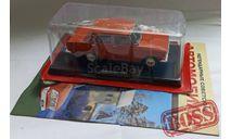 Москвич-412 Легендарные советские автомобили №21, журнальная серия масштабных моделей, Hachette, scale24