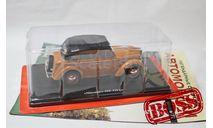 Легендарные советские автомобили №72 Москвич-400-420А (с тентом), журнальная серия масштабных моделей, Hachette, 1:24, 1/24