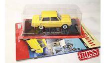 Легендарные Советские Автомобили №37 ЗАЗ-968А, журнальная серия масштабных моделей, Hachette, 1:24, 1/24