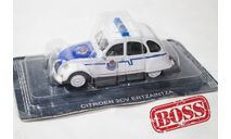 Полицейские машины мира Citroen 2cv, журнальная серия Полицейские машины мира (DeAgostini), Полицейские машины мира, Deagostini, scale43, Citroën