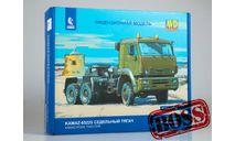 Сборная модель КАМАЗ-65225 седельный тягач, масштабная модель, AVD Models, 1:43, 1/43