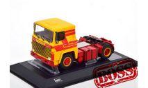 тягач SCANIA LBT 141 1976 Yellow/Red, масштабная модель, IXO грузовики (серии TRU), 1:43, 1/43