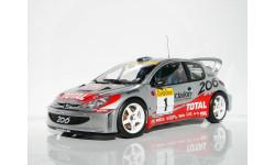 1/18 Peugeot 206 WRC 2001 #1 AUTOart 80157