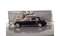 Раритет!!! 1/43 Minichamps Mercedes 300 Конрад Аденауэр, масштабная модель, scale43, Mercedes-Benz