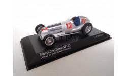 1/43 Mercedes Benz W125 1937 R. Caracciola Minichamps 400370012
