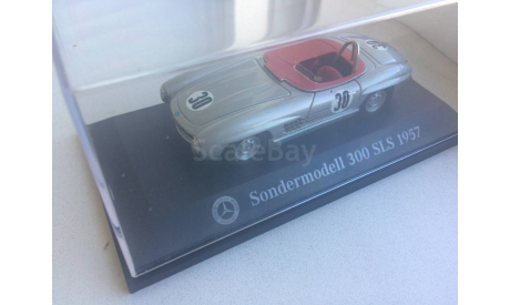 1/43 Mercedes Sondermodell SLS 1957, Tin Wizard for MBMC 2008, масштабная модель, Mercedes-Benz, 1:43