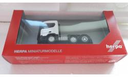 Herpa 1/87 тягач Scania CR ND, масштабная модель, scale87