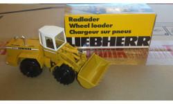 Погрузчик, масштабная модель трактора, 1:50, 1/50, Conrad, Liebherr