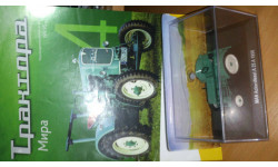 MAN Ackerdiesel A 25 A Hachette 1/43, масштабная модель трактора, 1:43