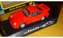 Porsche 911 GT2 1/43 Cararama, масштабная модель, Bauer/Cararama/Hongwell, 1:43