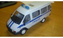 ГАЗ 32213, Газель ГИБДД технический контроль, АГАТ, 1/43, масштабная модель, scale43