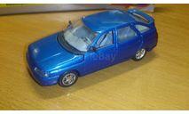 ВАЗ-2112, синий металлик, Агат, 1/43, масштабная модель, scale43