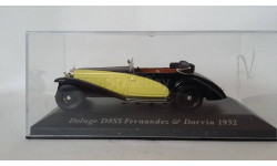 altaya Delage D8-SS Fernandez & Darrin, масштабная модель, 1:43, 1/43
