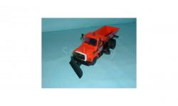 ГАЗ-3309 пескоразбрасыватель, масштабная модель, 1:43, 1/43, Компаньон